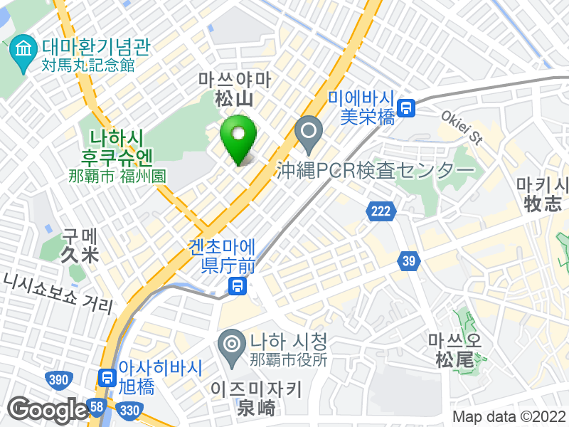 Chaco 지도