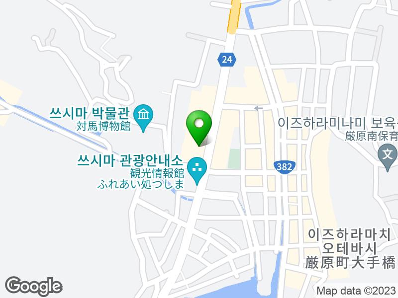 모스버거 쓰시마점 지도