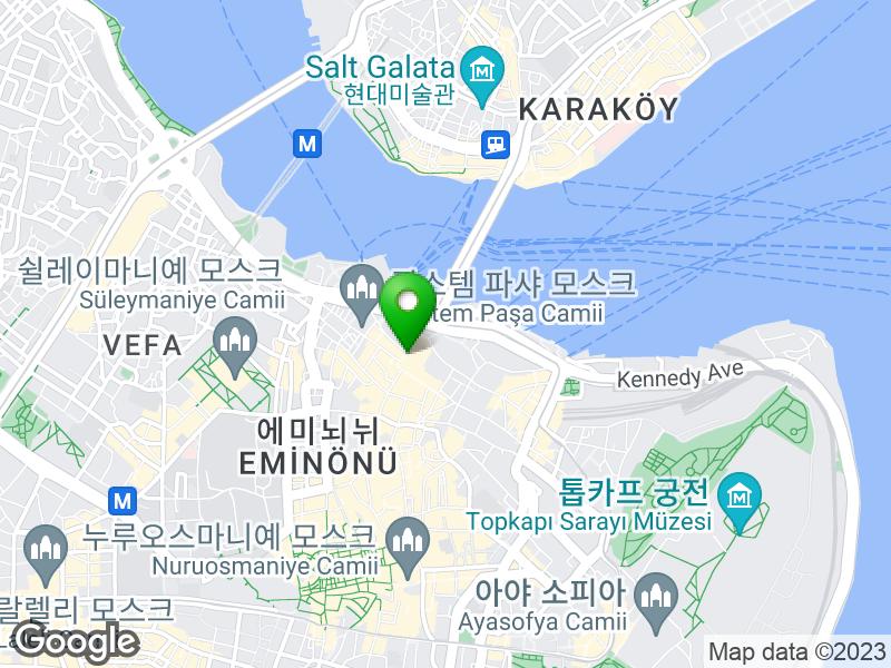 이집션 바자르 지도