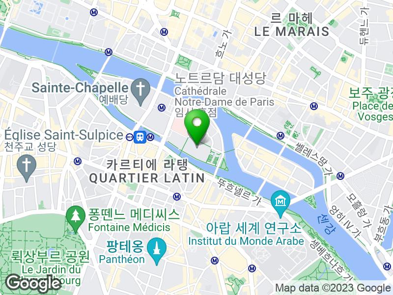 Cathédrale Notre-Dame de Paris 지도