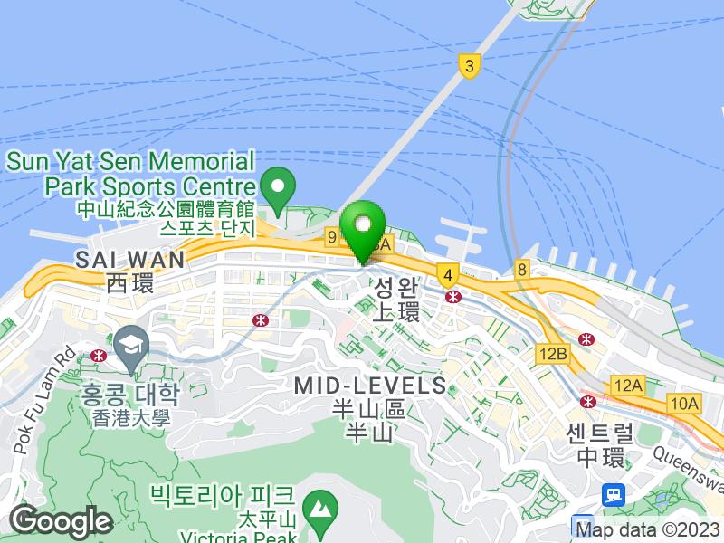 hotel ibis Hong Kong Central And Sheung Wan 지도