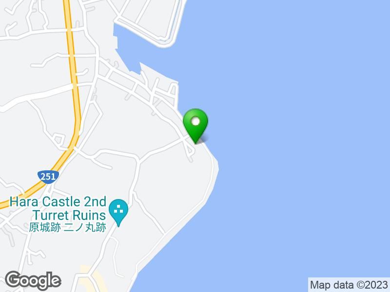 Hara Castle 지도